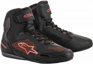 Alpinestars_Faster-3_Rideknit_Shoes_Black_Red_Fluo_Riding_Shoes_Motorradschuhe_Motorschoenen_Baskets_Zapatos_Ayakkabilar_1.jpg