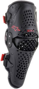 Alpinestars SX-1 V2 Knee Protector Black Red