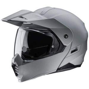 HJC-C80-Grey-Modular-Helm-Casque-Kask-Casco-1