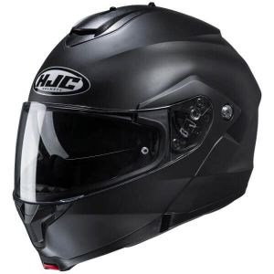 HJC-C91-Flat-Black-Modular-Helm-Casque-Kask-Casco-1