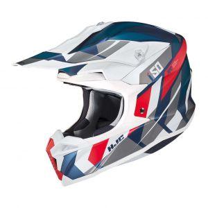HJC-I50-Vanish-Blue-White-Cross-Helmet-Helm-Casque-Kask-Casco-1