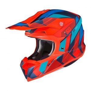 HJC-I50-Vanish-Red-Blue-Cross-Helmet-Helm-Casque-Kask-Casco-1