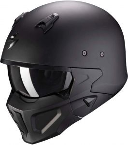 Scorpion-COVERT-X-SOLID-Matt-Black-Open-Face-Helmet-Helm-Casque-Kask-Casco-1.jpg