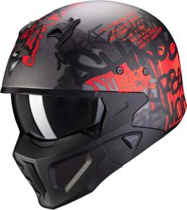 Scorpion-COVERT-X-WALL-Dark-Silver-Matt-Red-Open-Face-Helmet-Helm-Casque-Kask-Casco-1.jpg