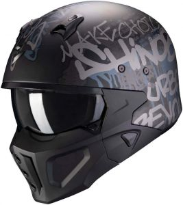 Scorpion-COVERT-X-WALL-Matt-Black-Silver-Open-Face-Helmet-Helm-Casque-Kask-Casco-1.jpg