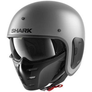 Shark-S-Drak-2-Anthracite-Mat-A02-Open-Face-Helmet-Helm-Casque-Kask-Casco-1.jpg