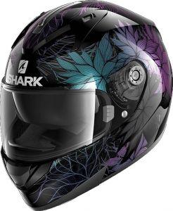 Shark_RIDILL_1.2_NELUM_KXK_Black_Glitter_Black_Full_Face_Helmet_Helm_Casque_Kask_Casco_1