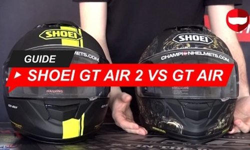 Shoei GT Air 2 vs Shoei GT Air 1